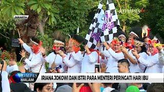 Gambar cover Iriana Jokowi dan Istri Para Menteri Peringati Hari Ibu