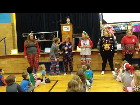 Twelve Days of Christmas by Fairplains Elementary School staff.