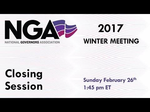 NGA 2017 Winter Meeting - Closing Session
