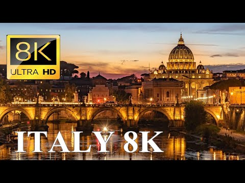 Best of Italy 8K Ultra HD Drone Video