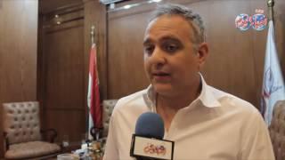 المنتج محمد حفظي نشكر مؤسسة أخبار اليوم على مؤتمر الابداع