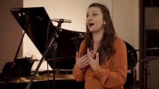 """Lucile Verbizier """"Vois sous l'archet frémissant"""" /Cyril Kubler Piano"""