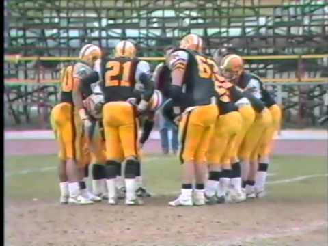 1988 Canadian bowl Sun vs Burlington Tiger cats part 3 of 3