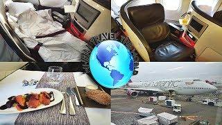 Virgin Atlantic BUSINESS CLASS (UPPER CLASS) + DIVERSION