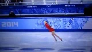 видео: Игры SOCHI-2014. Золотое выступление Юлии Лепницкой.