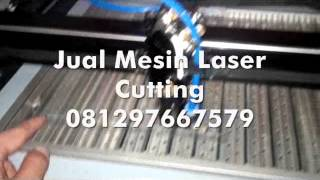 Mesin Laser Cutting Potong Mika Sticker Screen Guard Handphone HP