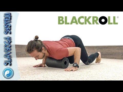 Миофасциальный релиз ✅ Упражнения для спины и корпуса на ⚫ BLACKROLL (массажные роллы и мячи)