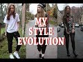 MY STYLE EVOLUTION 2014 - 2018 🤦‍♀️ | Lucy Love