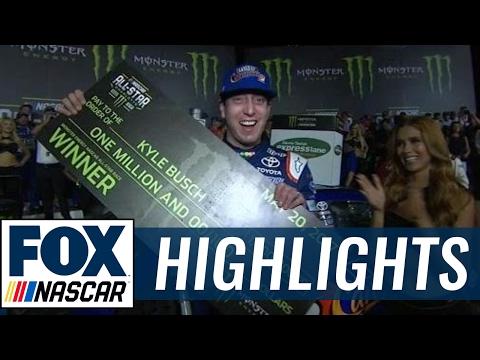 Kyle Busch Wins All-Star Race at Charlotte   2017 ALL-STAR RACE   FOX NASCAR