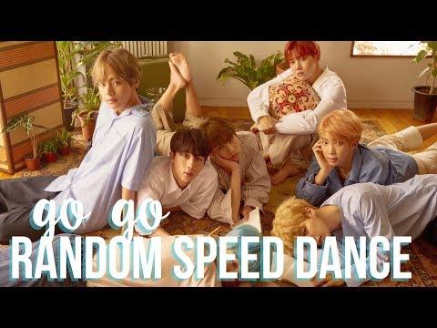 BTS - GO GO   Random Speed Dance Challenge