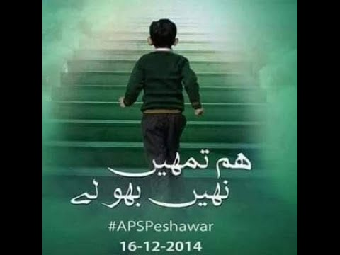 Tribute to APS Peshawar Students by CTVN