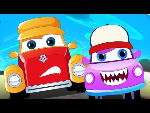 We Are The Monster Trucks | Super Car Royce Cartoons By Kids Channel