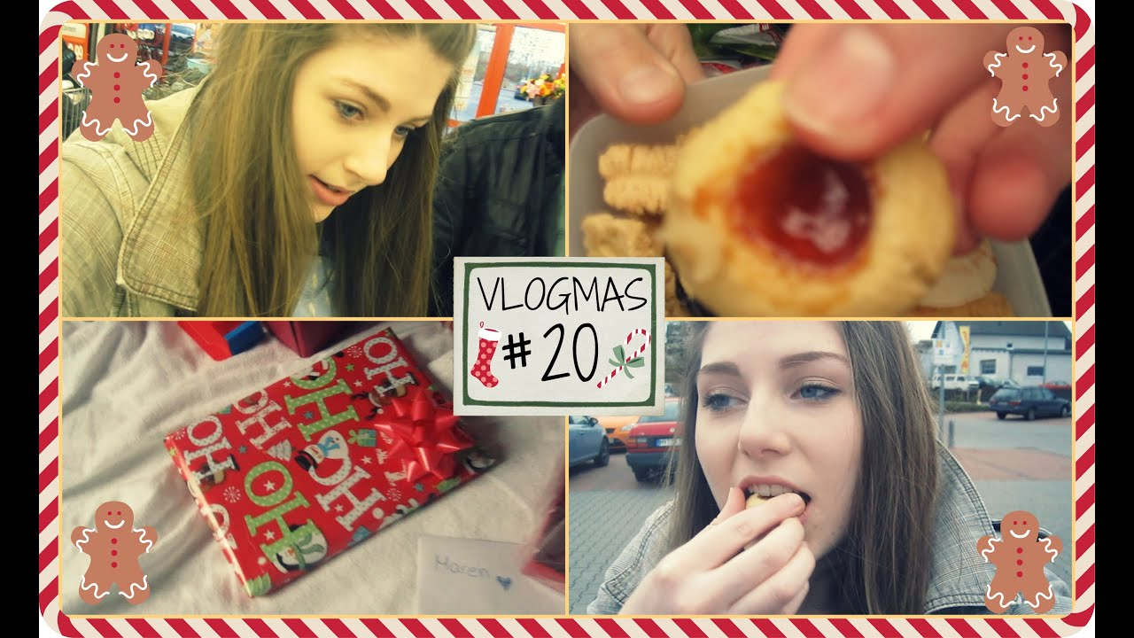 Vlogmas Tag 20 Kekse Geschenke Einpacken