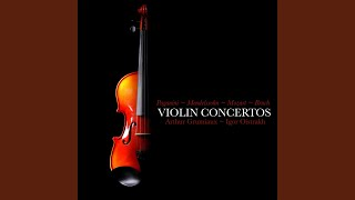 Violin Concerto No. 4 in D Minor, MS. 60: I. Allegro maestoso - II. Adagio flebile con...