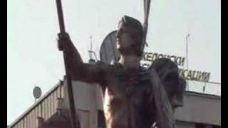 Statue Of Alexander The Great In Prilep