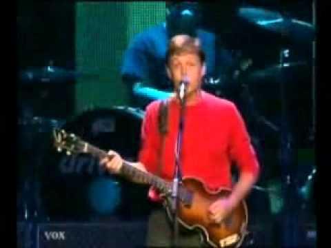 Driving Rain - Paul McCartney - Back In The U.S. (Live 2002)