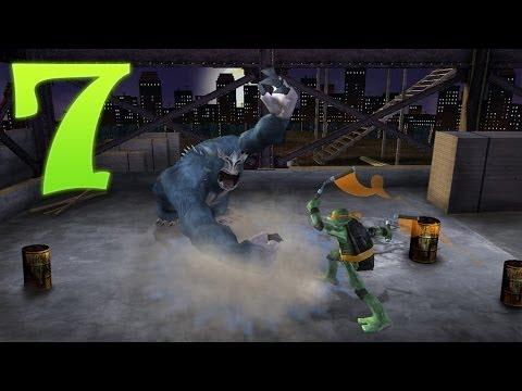Прохождение игры - TMNT (Черепашки Ниндзя) #7 Опасная игра