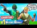 Carrying CUTEST Kid Ever In Fortnite mp3