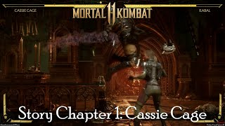 Mortal Kombat 11 - Story Chapter 1: Cassie Cage (Next of Kin)