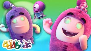 Oddbods | Dancing With Aliens | New FULL EPISODE | Funny Cartoon
