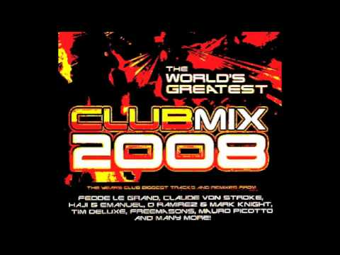 The Worlds Greatest Club Mix 2008  Album Mix