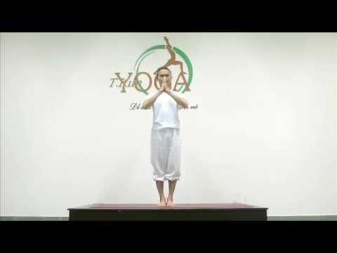 Bài tập Chào Mặt Trăng (Moon Salutation) – TKIM YOGA