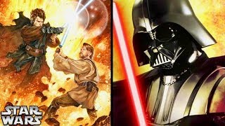 """Why Darth Vader was More """"Anakin"""" When he was Defeated by Obi-Wan on Mustafar! (Legends)"""