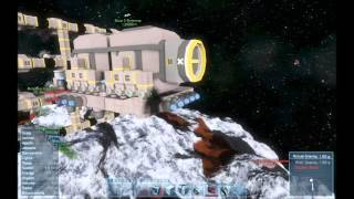 Space Engineers   S1 E7 Bigger Mining Vessel