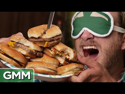 Download Youtube: Blind Burger Challenge