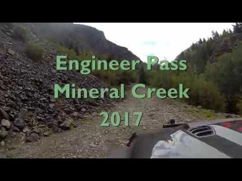Engineer Pass via Mineral Creek Colorado 2017