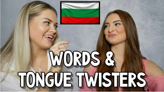 Language Challenge | Bulgarian Words & Tongue Twisters