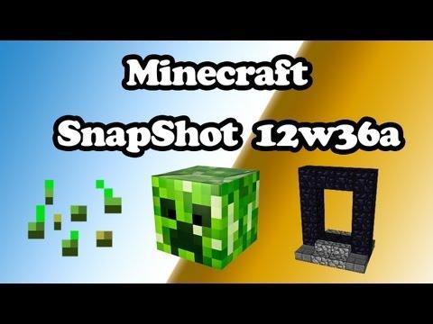 Minecraft | SnapShot 12w36a