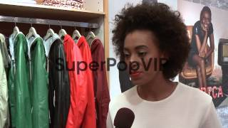 INTERVIEW - Solange Knowles on why she is at the event, w...