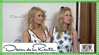 Paris Hilton and Nicky Hilton at The Colleagues And Oscar de la Renta's Annual Spring Luncheon