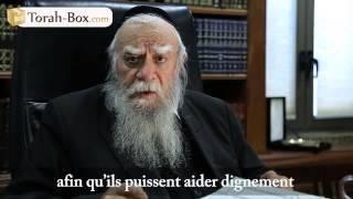 Appel à la tsedaka du Grand Rabbin d'Israel le Rav Bakchi Doron