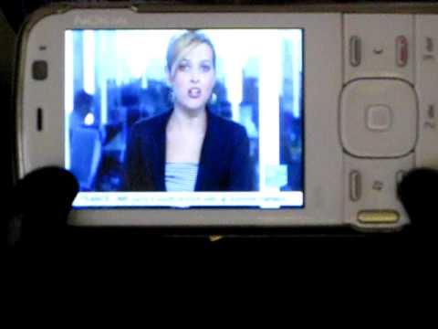 test Nokia N79 playing life TV France 24 news
