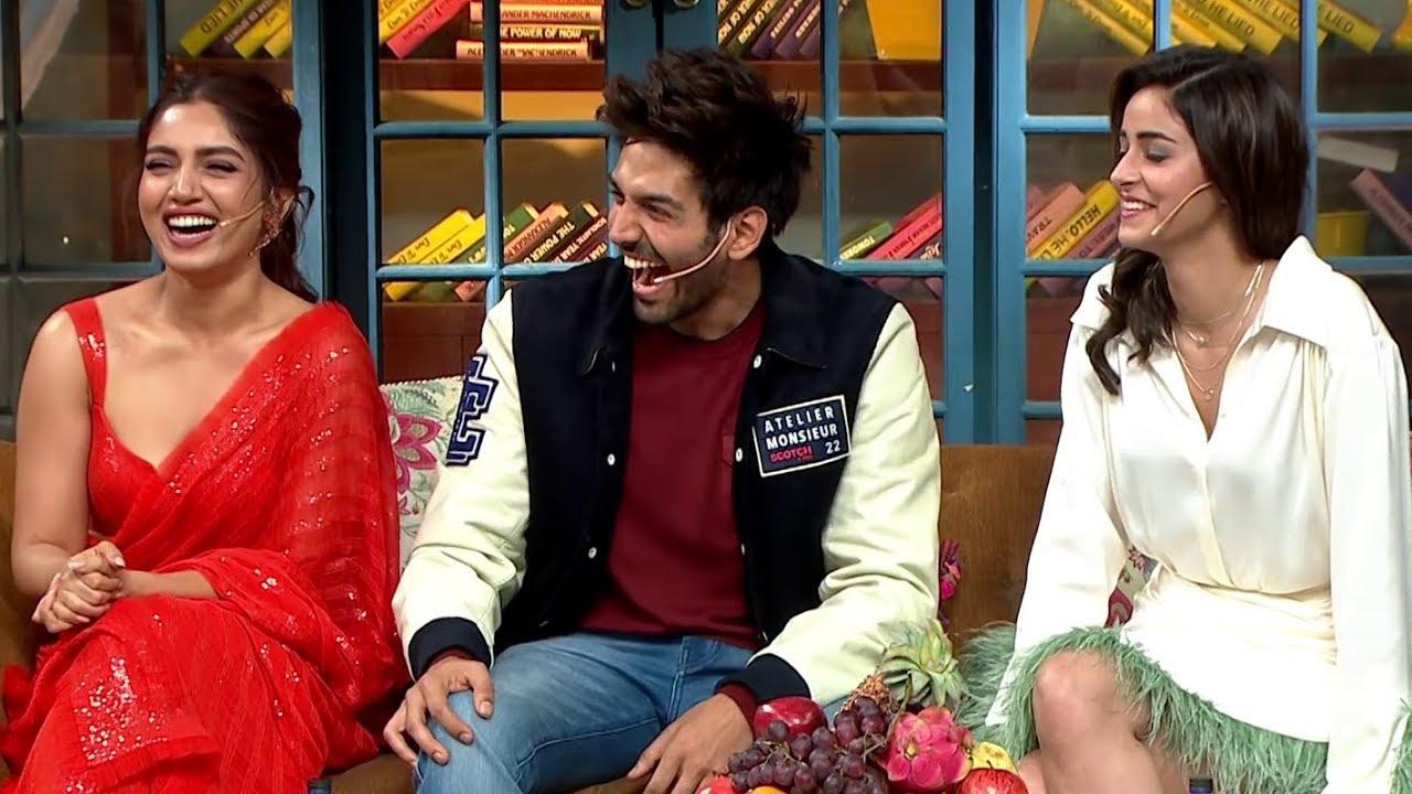 The Kapil Sharma Show - Movie Pati Patni Aur Woh Episode Uncensored   Kartik, Bhumi, Ananya
