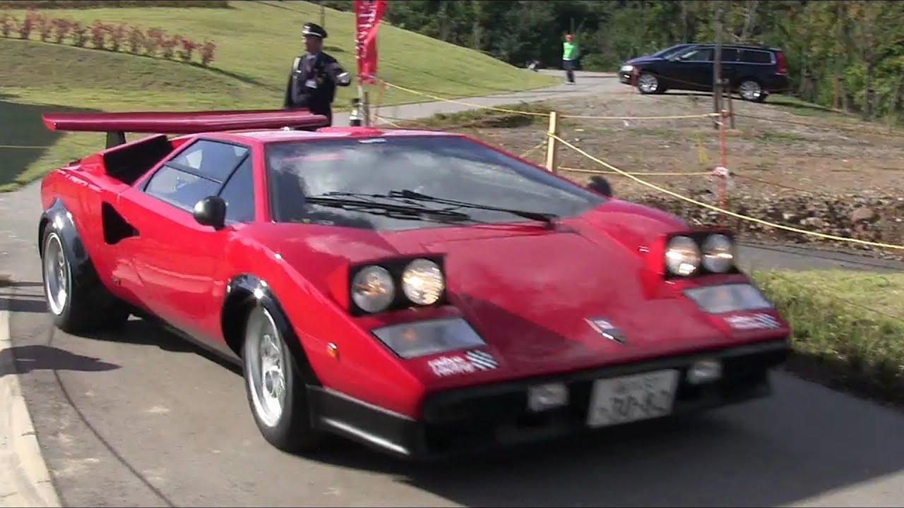 【スーパーカー・ミーティング2013 in 山形】ランボルギーニ・カウンタックLP500S・ウォルターウルフ Pt.4【Lamborghini Countach LP500S Walter Wolf】