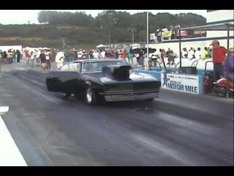 Nice Camaro At Shelor Motor Mile Drag Way Youtube
