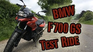 bMW F700GS Test Ride