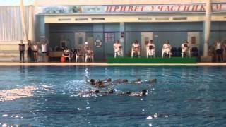 Синхронное плавание, Чехов 5.05.15г