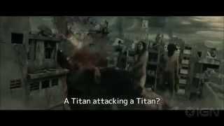 Attack on Titan (Shingeki no kyojin) Türkçe Altyazılı 1. Uzatılmış Fragman