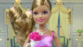 Барби Куклы Свадебный День Свадебный Участник Жених Кен Пьеса Цветок Девушка Невесты Невесты Playdo