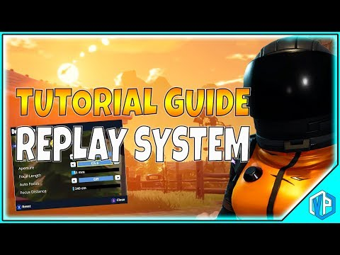 Fortnite Replay Mode Tutorial - HOW TO USE FORTNITE REPLAY / Walkthrough / Explained!