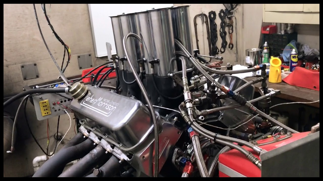REHER MORRISON OLD SCHOOL FUEL INJECTED 565 CUBIC INCHES