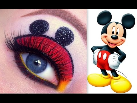 disney 39 s mickey mouse makeup tutorial youtube. Black Bedroom Furniture Sets. Home Design Ideas