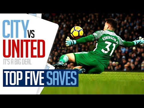 TOP 5 DERBY DAY SAVES   CITY v UNITED