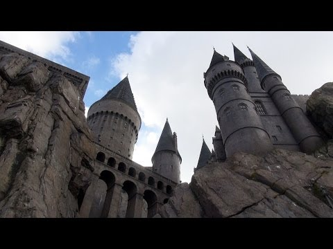 HOGWARTS CASTLE TOUR - Wizarding World Of Harry Potter - Universal Studios Islands Of Adventure