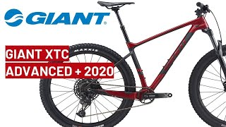 ... hello. meet the new giant xtc advanced sl 29 1 2020 year bike. chaotic starts, battle for position, red zone climbs...