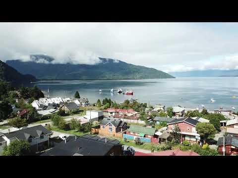 Puerto Cisnes - Chile (Drone)